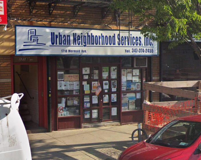 Urban Neighborhood Services building